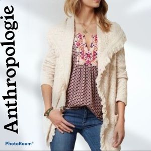 Anthropologie Angel of the North cardigan. Size M